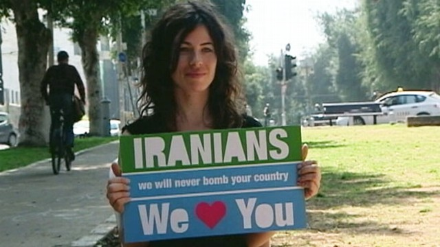VIDEO: Israel Loves Iran online campaign is designed to prevent a nuclear attack between the two nations.