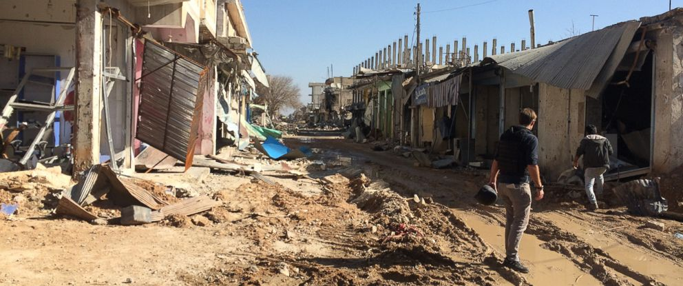 PHOTO: A look inside the Syrian border town of Kobane after ISIS was driven out.