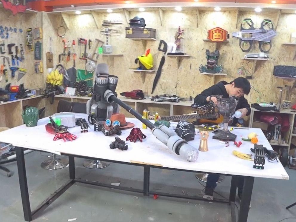 Nightline went inside Makerbetas workshop in China.