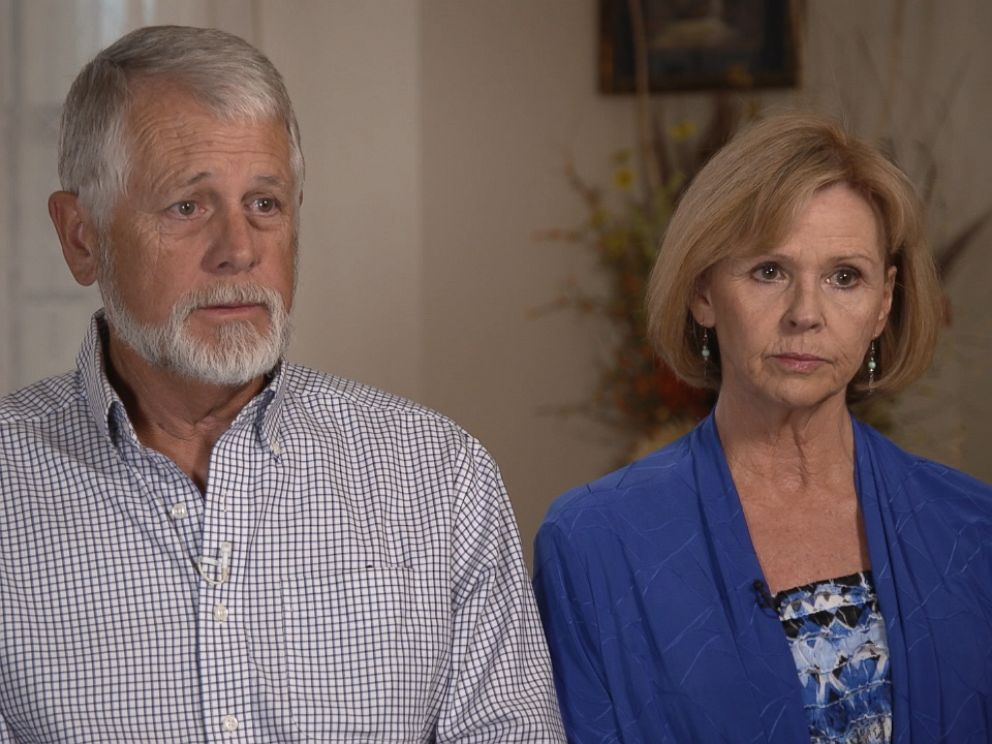 Carl and Marsha Mueller are seen here during an interview for ABC News 20/20.