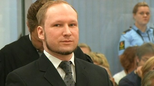 VIDEO: Panel of judges convicts Breivik, 33, of terrorism and premeditated murder.