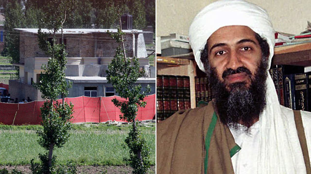 PHOTO:The house where it is believed al-Qaida leader Osama bin Laden, shown in this file photo, lived in Abbottabad, Pakistan, is shown May 2, 2011.