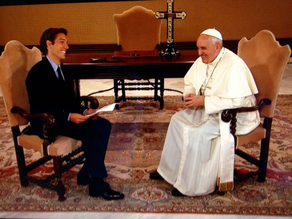 PHOTO: Pope Francis held a virtual audience with Americans in an ABC News event ahead of his visit to the U.S.