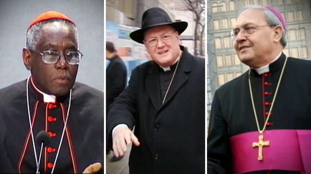 VIDEO: A look at who could emerge from the conclave as the new head of the Catholic Church.