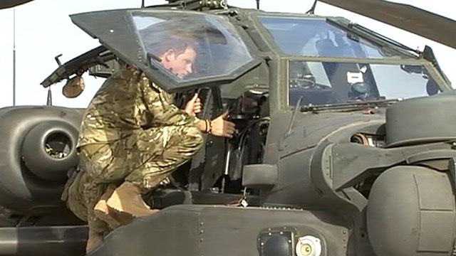 PHOTO: Prince Harry arrives in Afghanistan, Sept. 7, 2012.