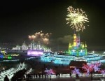 VIDEO: The annual festival in Harbin China shows off its amazing ice sculptures.