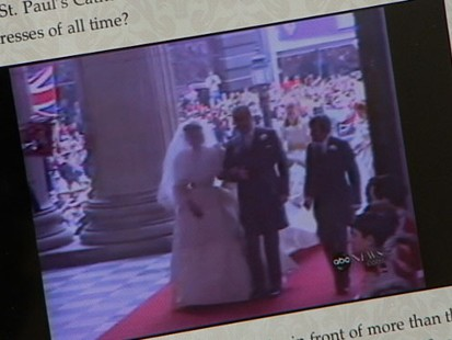 VIDEO: ABC video book author remembers Charles and Diana, anticipates Will and Kate.