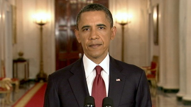 VIDEO: The President addresses the nation at a triumphant time for America.
