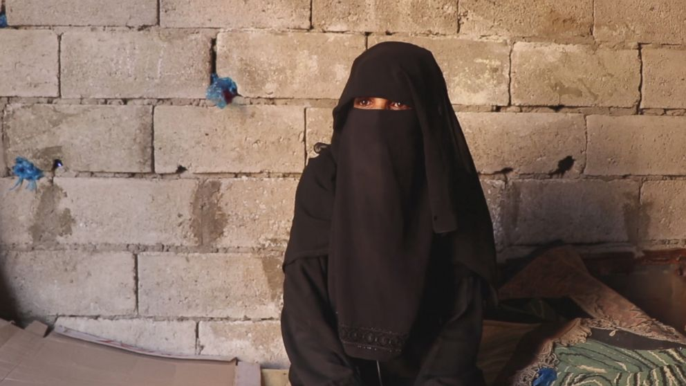 I fight for them [my daughters] to go to school and they are doing their best, said Montaha Al-Hamadi.