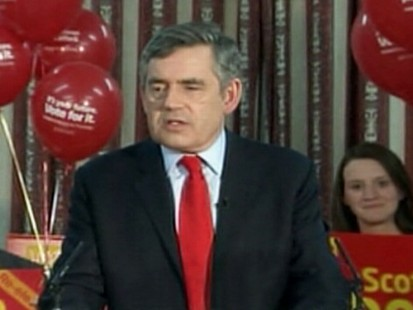 VIDEO: Prime Minister Gordon Brown faces a tough challenge as voters cast their ballots.
