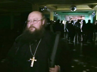 Video: Orthodox priest is using punk music to lure young people to church.