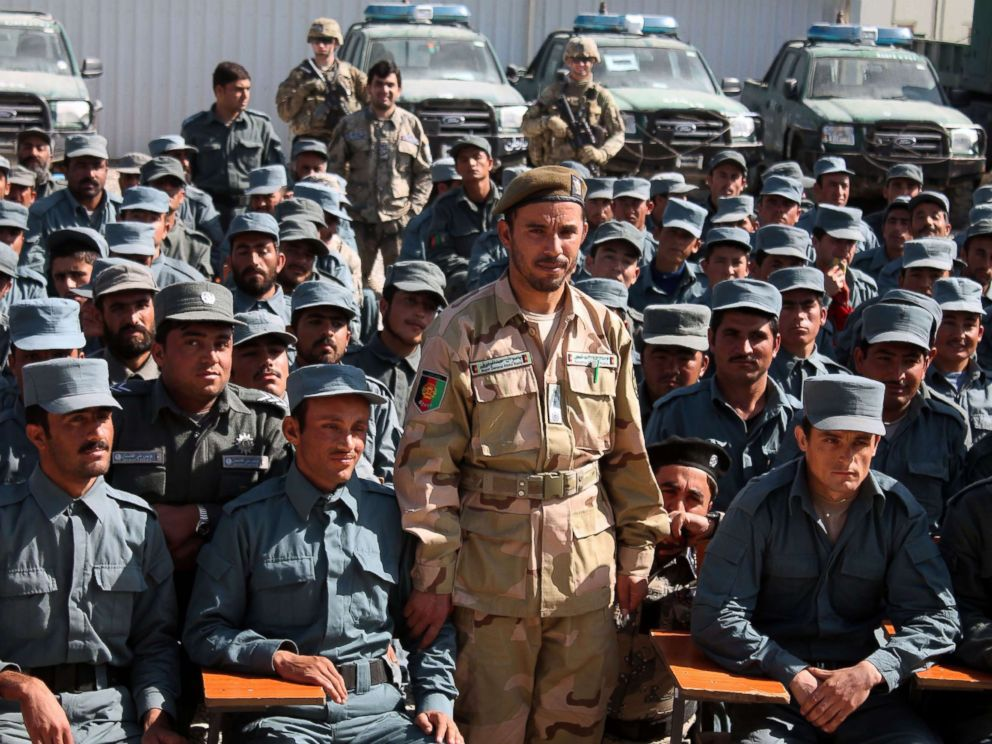 PHOTO: In this Feb. 19, 2017 file photo, Afghan General Abdul Raziq, police chief of Kandahar, poses for a picture during a graduation ceremony at a police training center in Kandahar province.
