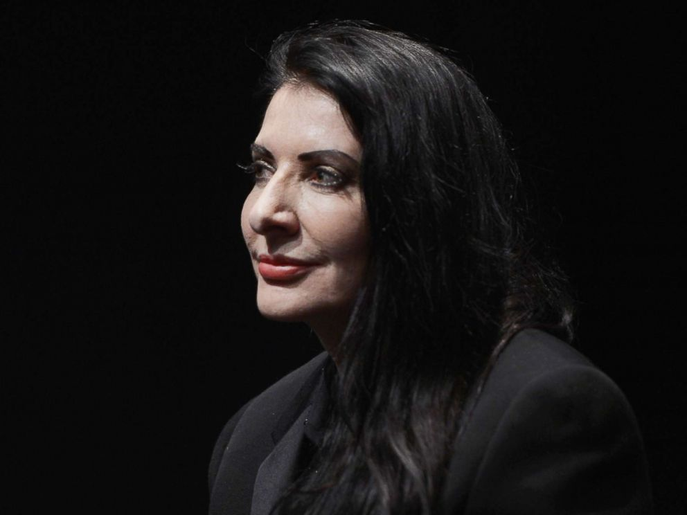 Artist Marina Abramović attacked during book signing