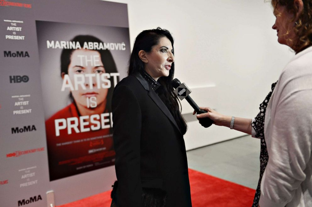 Marina Abramovic unhurt after attack