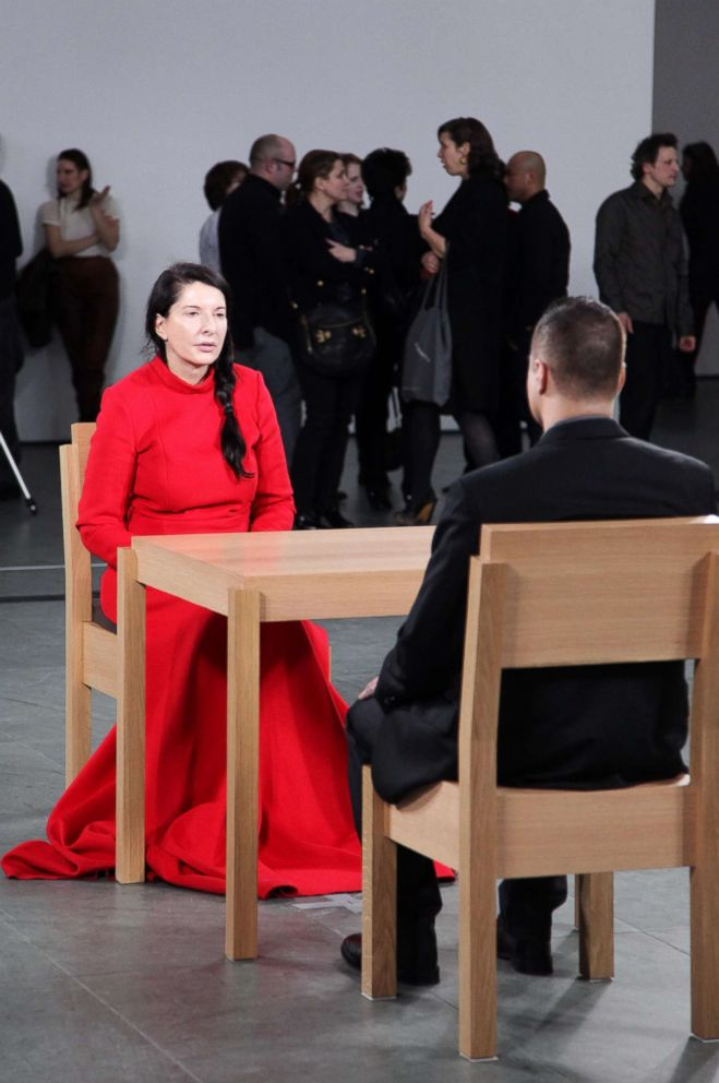 PHOTO: Artist Marina Abramovic at the Opening Night Party of MARINA ABRAMOVIC: THE ARTIST IS PRESENT at Museum of Modern Art on March 9, 2010, in New York City.