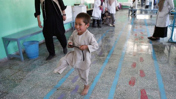 Afghan boy, wounded in war, dances on new prosthetic leg in heartwarming video