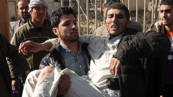 Death toll in ambulance car-bombing claimed by Taliban rises to 103 with another 235 injured