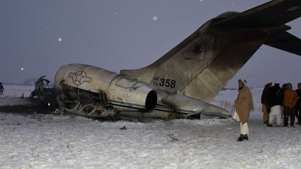 Us Military Recovers 2 Bodies From Aircraft Crash Site In Afghanistan Abc11 Raleigh Durham