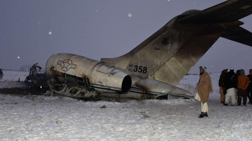 US-Militär-Flugzeug-Absturz in Afghanistan