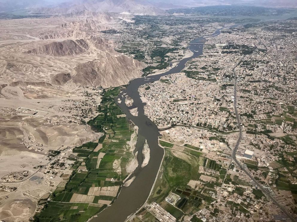 PHOTO: Afghanistan, as seen from above in June 2018, can be breathtaking for visitors.