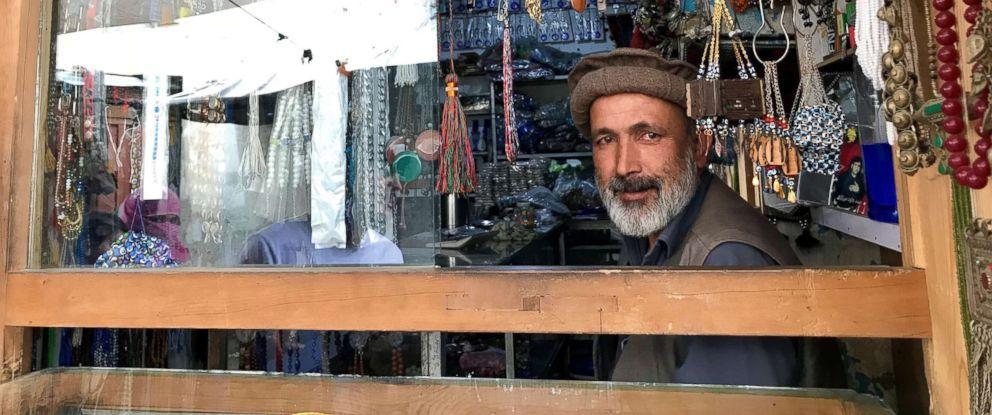 PHOTO: A man is seen in Afghanistan in June 2018.