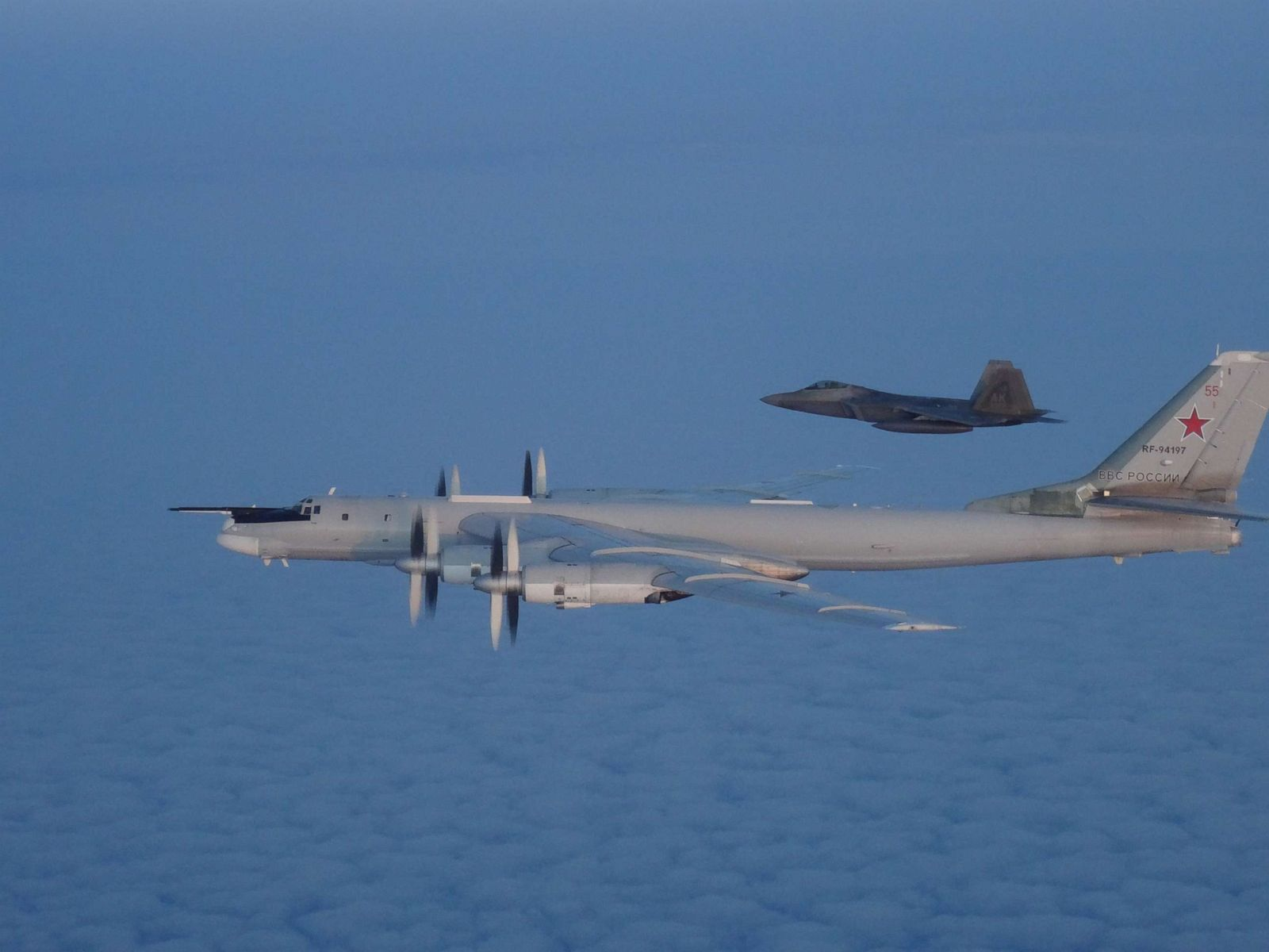 US and Canadian military aircraft intercept 2 Russian