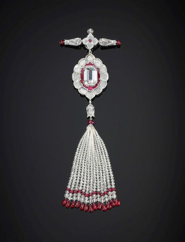 PHOTO: An undated photo of the stolen jewels from the Al Thani Collection that were on exhibit in Venice.