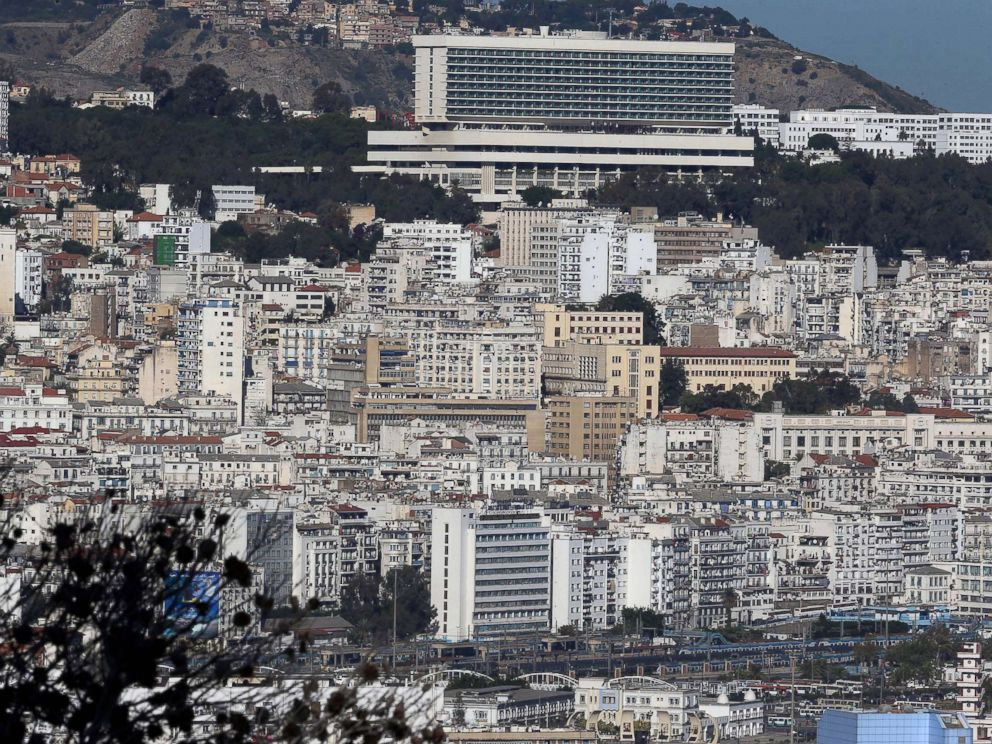 PHOTO: A general view of Algiers on Nov. 24, 2017.  Algeria orders total shutdown of internet during high school exam period algeria gty thg 180621 hpMain 4x3 992