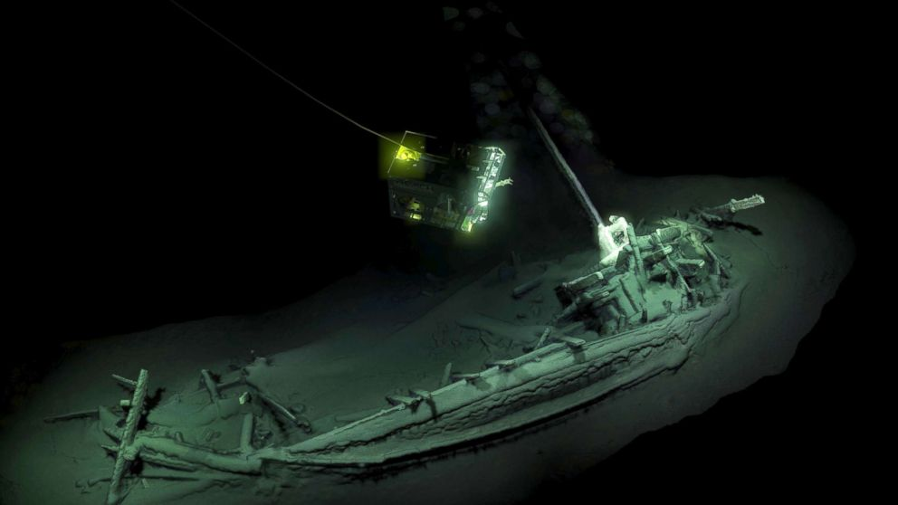 Scientists discover what they say is oldest intact shipweck