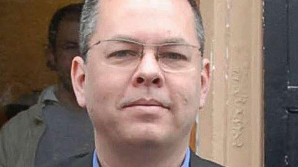 Andrew Brunson, an American pastor, living in Izmir, Turkey.