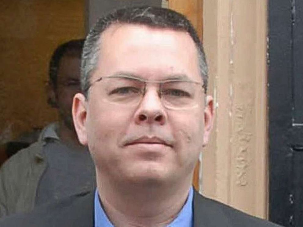 PHOTO: Andrew Brunson, an American pastor, living in Izmir, Turkey.
