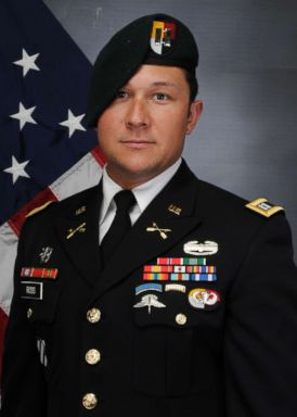 PHOTO: Army Capt. Andrew Patrick Ross, 29, of Lexington, Virginia was one of three special operations service members killed by a roadside bomb in Afghanistan on Nov. 27, 2018.