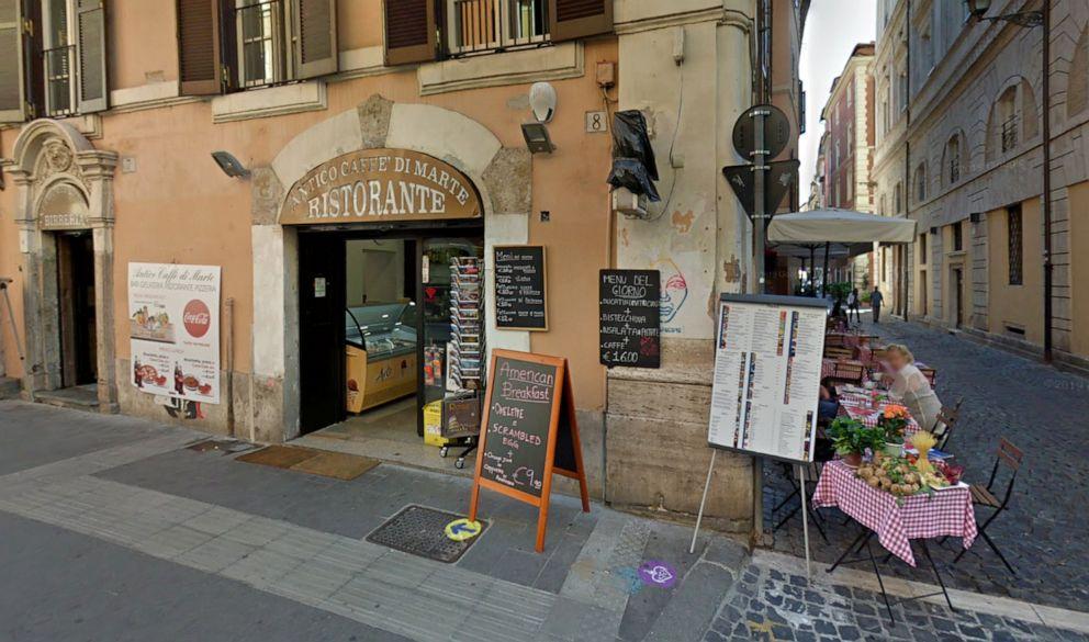PHOTO: Antico Caffe di Marte, Rome, Italy.