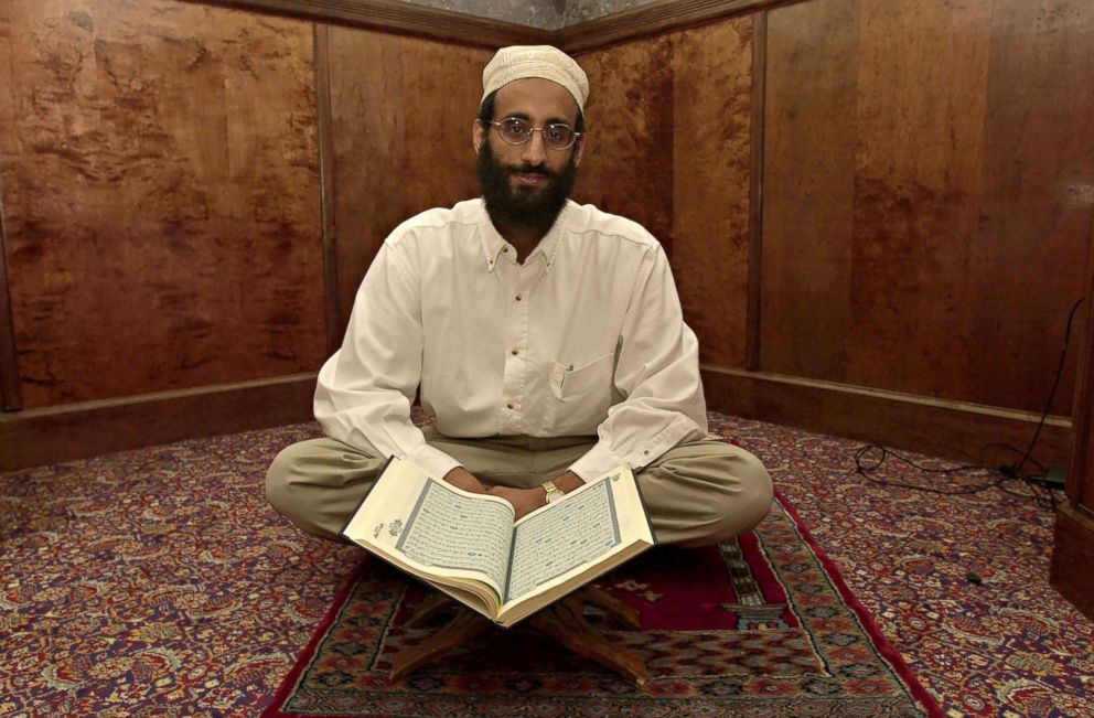 Anwar Al-Awlaki at a mosque in Annandale, VA, Oct. 14, 2001.