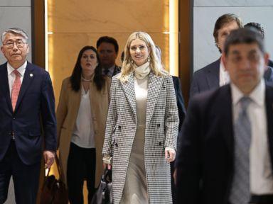 Ivanka Trump arrives in South Korea ahead of Olympics closing ceremony