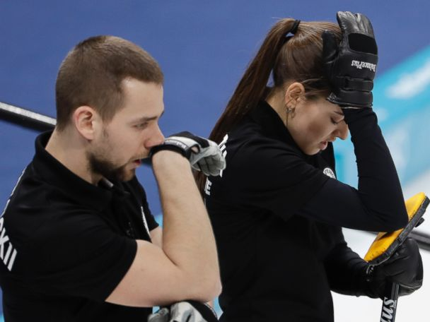 Russian curlers stripped of medal after doping violation