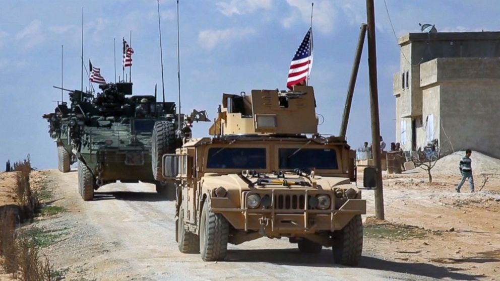 The US has troops in Syria, and here's what they're doing - ABC News