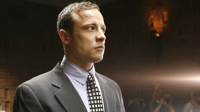 PHOTO: Oscar Pistorius appears in the magistrates court in Pretoria, South Africa, Tuesday, June 4, 2013.