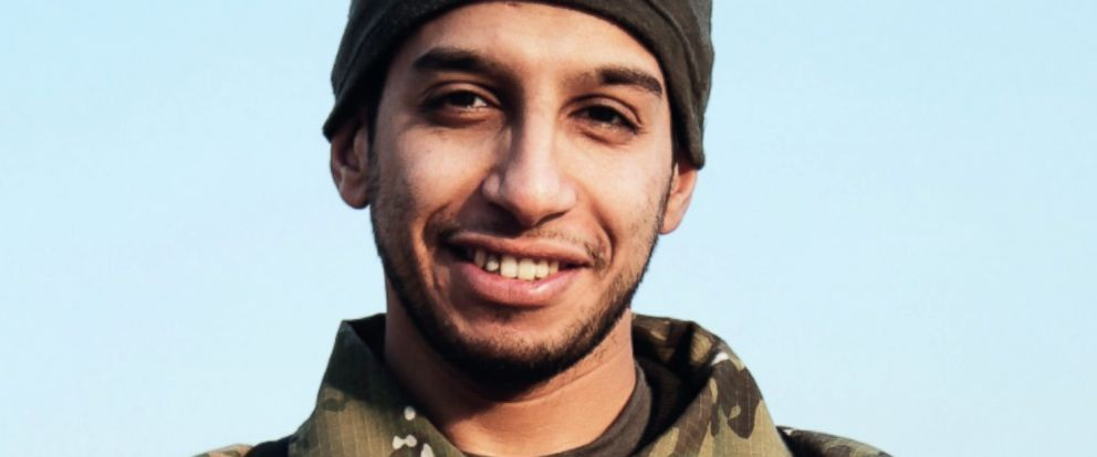 PHOTO: This undated image made available in the Islamic States English-language magazine Dabiq, shows Belgian Abdelhamid Abaaoud.