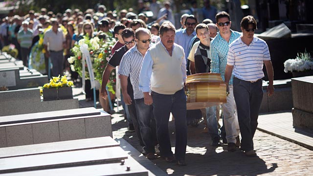 PHOTO: Funeral for nightclub fire victim