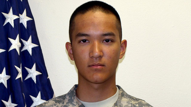 PHOTO: U.S. Army Pvt. Danny Chen,19, who was killed, Oct. 3, 2011 in Kandahar, Afghanistan, is seen in this undated file photo.
