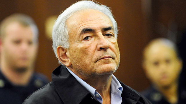 PHOTO: Dominique Strauss-Kahn, head of the International Monetary Fund, is arraigned, May 16, 2011, at Manhattan Criminal Court in New York, on charges he sexually assaulted a hotel maid.