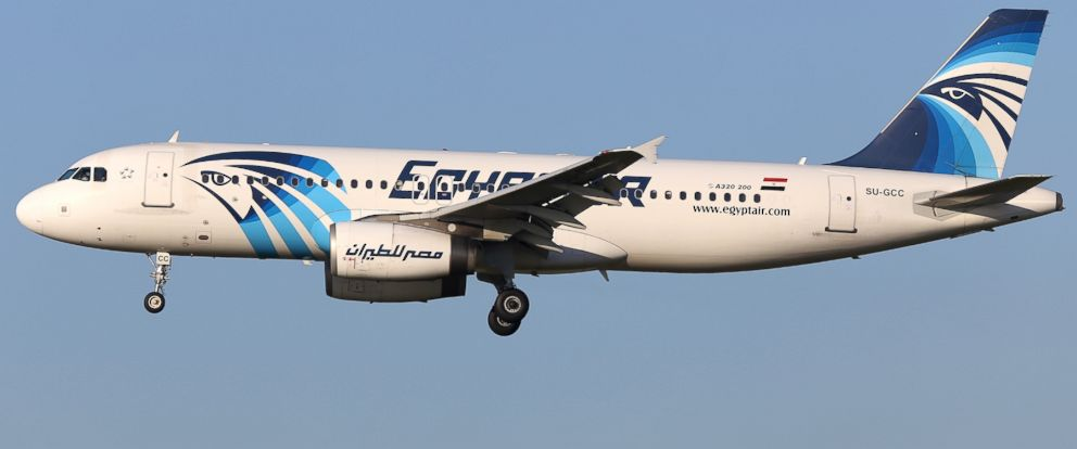 PHOTO: This January 2015 image shows EgyptAir Airbus A320 with the registration SU-GCC in the air near Zaventem airport in Brussels.