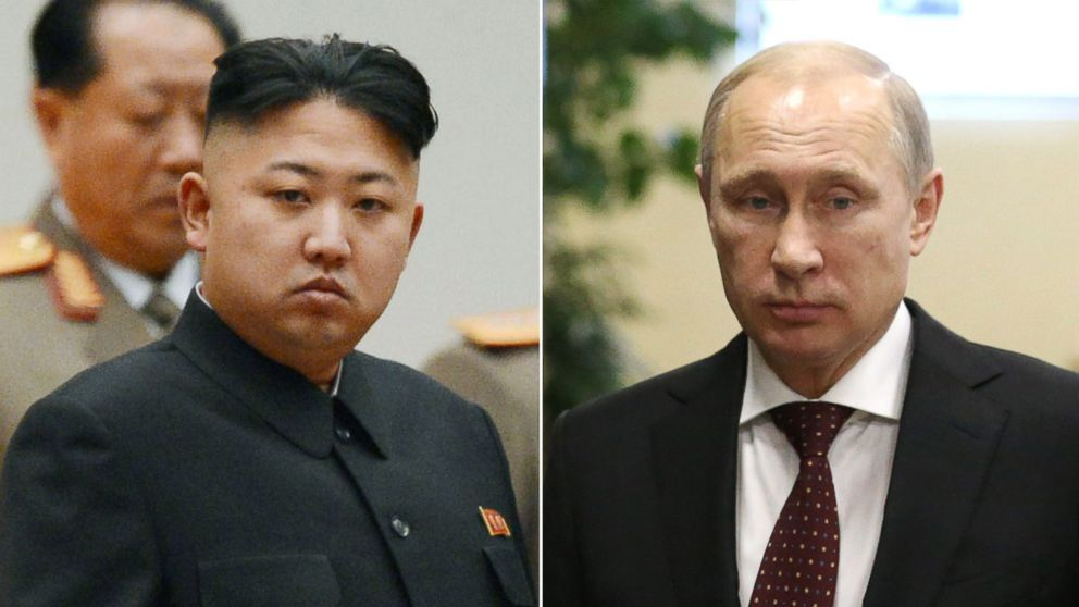Kim Jong Un To Meet With Vladimir Putin Let The Battle Of The Macho Men Begin Abc News