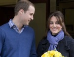 PHOTO:Britains Prince William stand next to his wife Kate, Duchess of Cambridge as she leaves the King Edward VII hospital in central London, Thursday, Dec. 6, 2012.