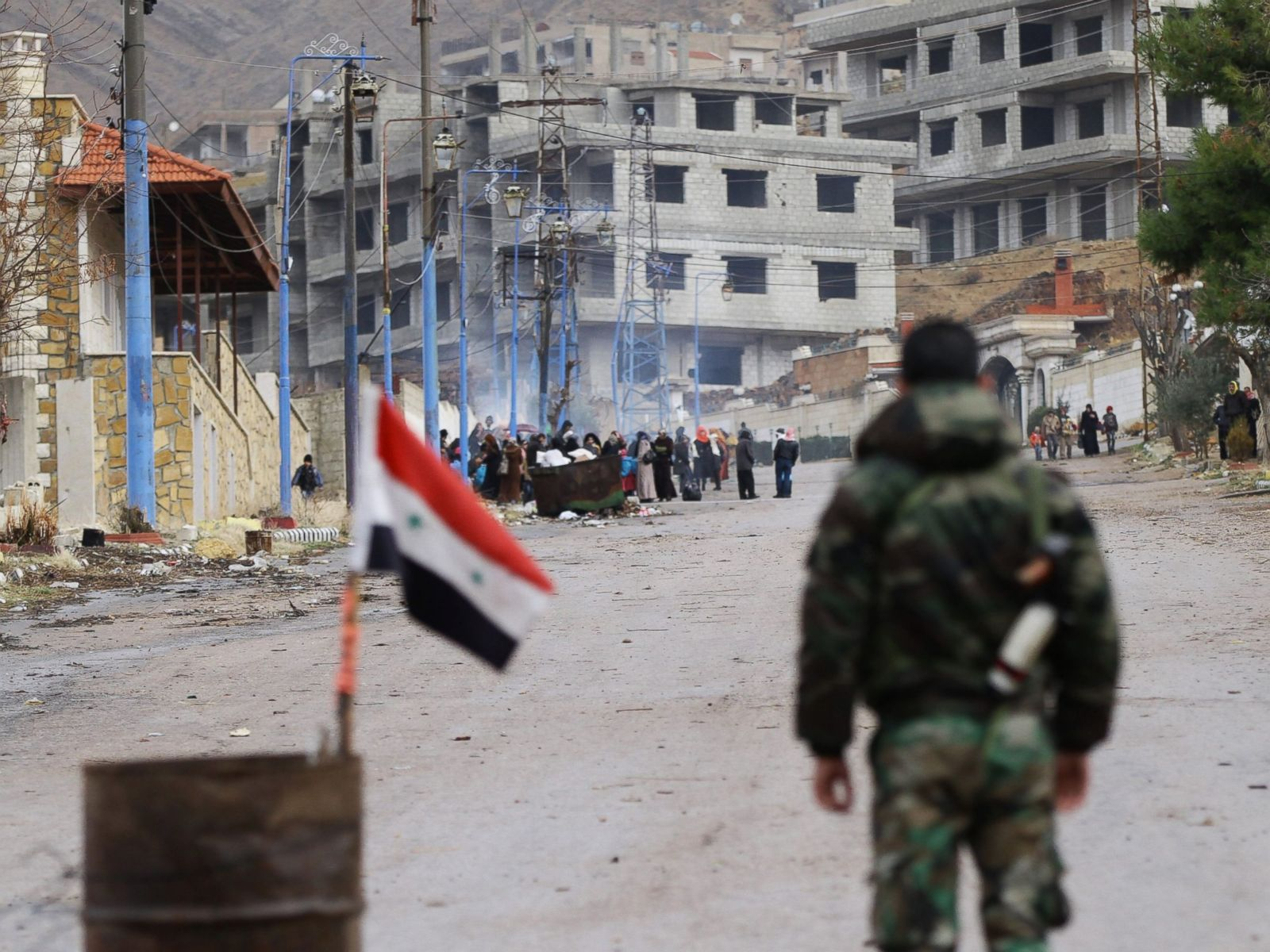 Inside the Besieged Syrian Town of Madaya