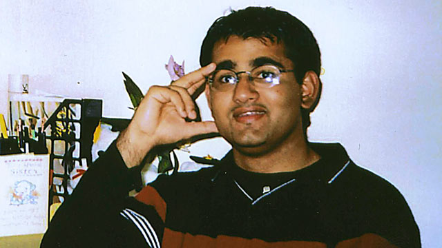 PHOTO: Majid Khan is seen in this 1999 file photo, during his senior year in high school in Baltimore, Md.