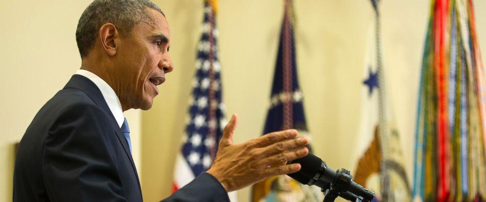PHOTO: President Barack Obama speaks in the Roosevelt Room of the White House in Washington, June 24, 2015.