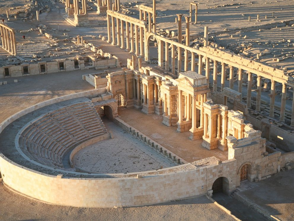 PHOTO: An aerial file photo taken in January 2009 shows part of Palmyra in Syria.