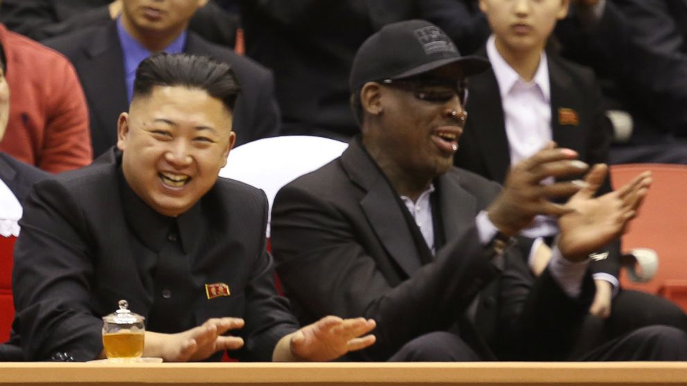 Rodman On His Relationship With Kim Jong Un He Treats Me As A